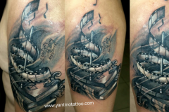 not-music-tattoo-bali-realistic-tattoo-blackgrey-ubud-bali