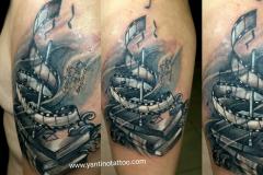 not-music-tattoo-bali-realistic-tattoo-blackgrey-ubud-bali