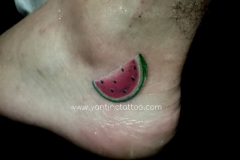 melon-tattoo-bali-full-color-realistic-toop-bali-kuta